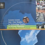 UNEP-Lesson Learnt And Case Studies in Technology Tranfer in African Countries under The Montrel Protocol